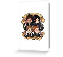 HP - Marauders Greeting Card