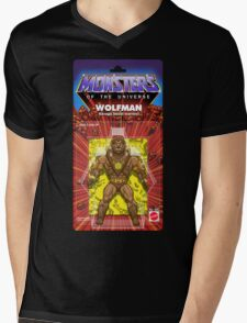 MONSTERS OF THE UNIVERSE - WOLFMAN Mens V-Neck T-Shirt