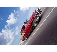 cuba classic car Photographic Print