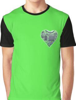 Hardwired Heart Graphic T-Shirt