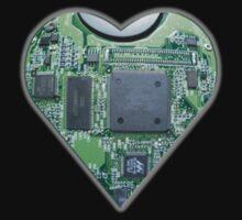 Hardwired Heart Kids Tee