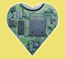 Hardwired Heart One Piece - Short Sleeve