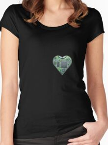 Hardwired Heart Women's Fitted Scoop T-Shirt