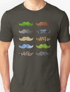 Pattern Moustache Mustache Unisex T-Shirt