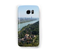 The view of Vienna from Leopoldsberg Samsung Galaxy Case/Skin