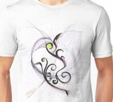 Flying to the Hyperspace - Original Wall Modern Abstract Art Painting Unisex T-Shirt