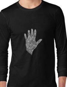 HennaHandWhite Long Sleeve T-Shirt