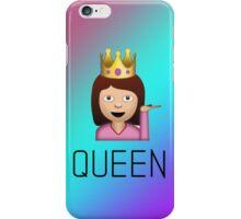 QUEEN sassy woman emoji gradient iPhone Case/Skin