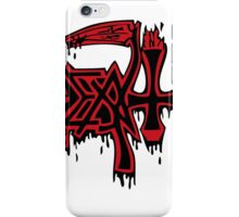 Death Logo iPhone Case/Skin