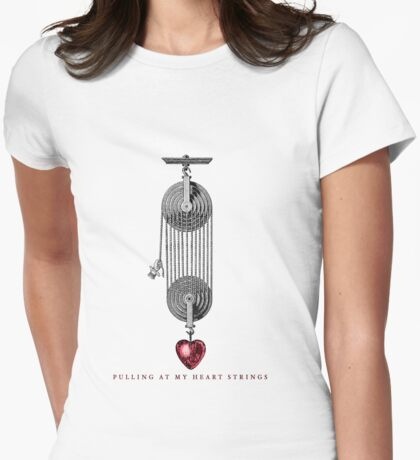 Heavy Valentine Womens Fitted T-Shirt
