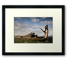 Fleetwood march Wrecks Framed Print
