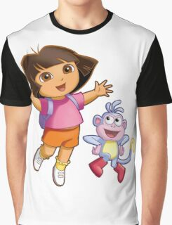 Dora The Explorer Graphic T-Shirt