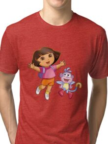 Dora The Explorer Tri-blend T-Shirt