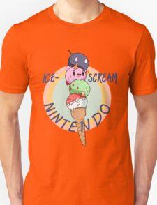 Nintendo icecream, with text!! Unisex T-Shirt
