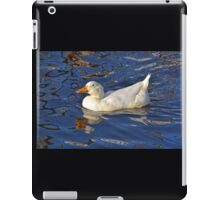 Cartoon Reflections Of A Duck......... iPad Case/Skin