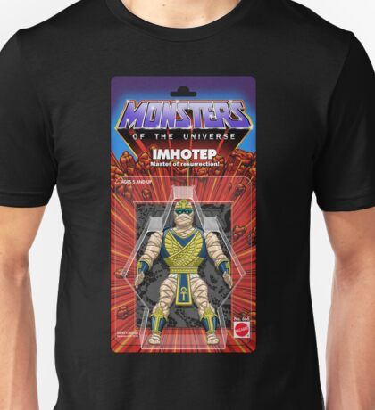 MONSTERS OF THE UNIVERSE - IMHOTEP Unisex T-Shirt