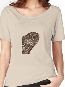 Brown Owl Women's Relaxed Fit T-Shirt