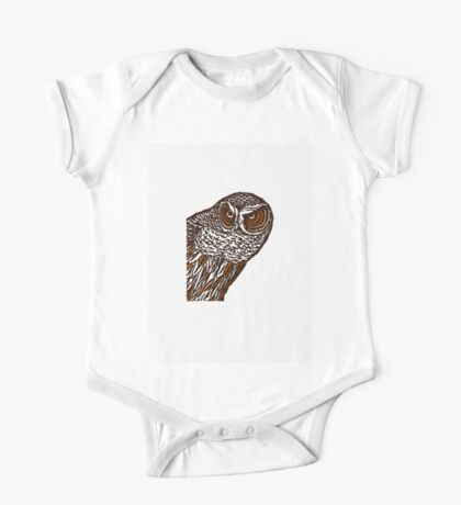 Brown Owl One Piece - Short Sleeve
