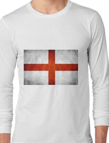 England Flag - St Georges Long Sleeve T-Shirt