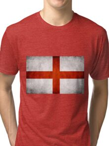 England Flag - St Georges Tri-blend T-Shirt