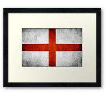 England Flag - St Georges Framed Print