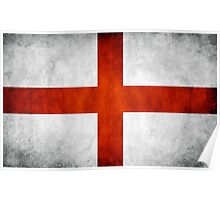 England Flag - St Georges Poster