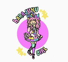 Harajuku Pastel Girl Kawaii Fairy Kei Decora Womens Fitted T-Shirt