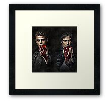 The Salvatore Brothers Framed Print