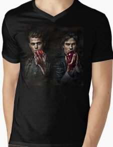 The Salvatore Brothers Mens V-Neck T-Shirt