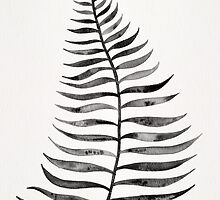 Black Palm Leaf by Cat Coquillette
