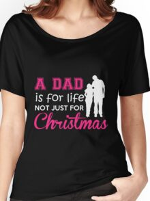 my daddy Women's Relaxed Fit T-Shirt