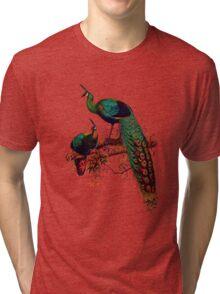Peacock extravaganza Tri-blend T-Shirt