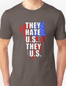 hate US Unisex T-Shirt