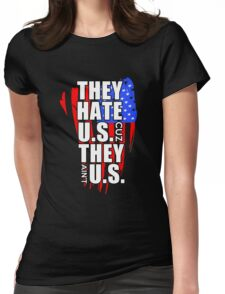 hate US Womens Fitted T-Shirt