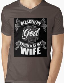 My wife Mens V-Neck T-Shirt