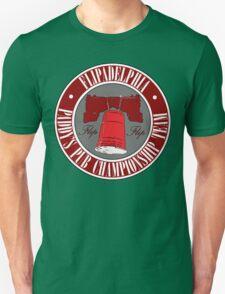 It's Always Sunny: Flipadelphia Shirt, Red T-Shirt