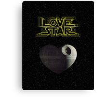 Star Wars 2 Canvas Print