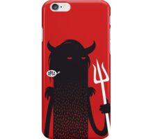 black iPhone Case/Skin