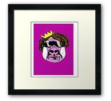 Stoner Yeti Framed Print