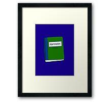 Textbook Narcissist  Framed Print