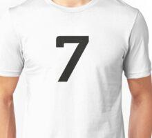 Sport Number 7 Seven Unisex T-Shirt