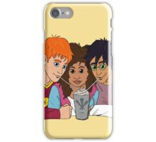 The Golden Trio share a hot cocoa iPhone Case/Skin