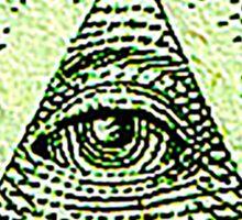 Eye of Providence, American, USA, Mystic, Dollar, Bill, Money, Freemasonry, All Seeing Eye, Pyramid, Masonic, America Sticker