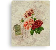 Decoupage 2 Canvas Print