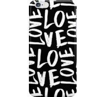 Love in Black&White iPhone Case/Skin