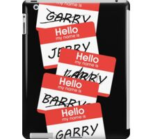 Parks and Rec: Jerry, Garry, Barry... Shirt iPad Case/Skin