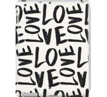 Love in Gray&Cream iPad Case/Skin