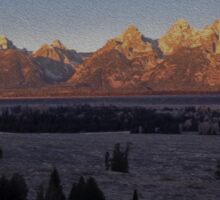 Teton, No. 2 Sticker