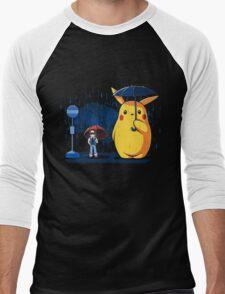 My Neighbour Pikachu Men's Baseball ¾ T-Shirt