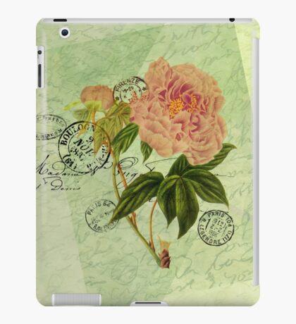 Decoupage 4 iPad Case/Skin